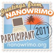 NaNoWriMo Particpant Badge