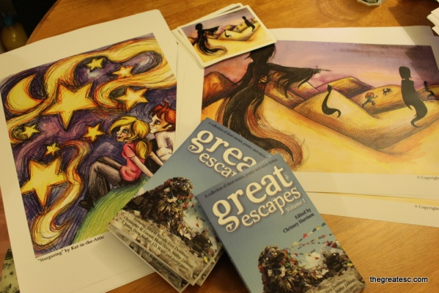 Great Escapes, Volume 1 - Books, prints and art cards